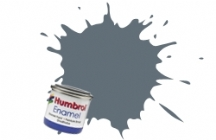 Barva Humbrol Email 125 US Dark Grey Satin - 14ml