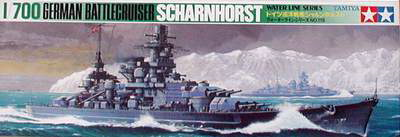 Tamiya Scharnhorst German Battlecruiser 1/700 77518