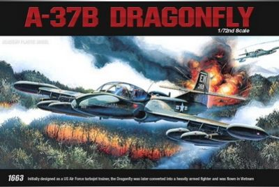 A-37B Dragon Fly 1/72 Academy 12461