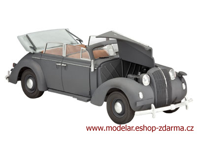 Revell German Staff Car Admiral Cabriolet 1:35 03099