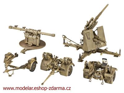 Revell 8,8 cm Flak 36 (Fire Director 40, Sd.Ah. 202 & 52) 1:72 03174
