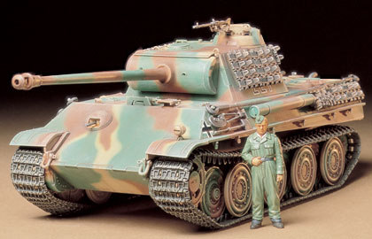Tamiya Panther G Steel Wheel Version 1/35 35174