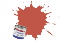 Barva Humbrol Email 100 Red Brown Matt - 14ml