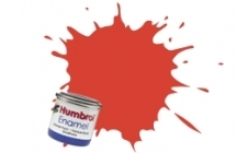 Barva Humbrol Email 174 Signal Red Satin - 14ml