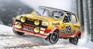 Italeri RENAULT R5 ALPINE RALLY (1:24) IT3652
