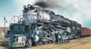 Big Boy Locomotive 1:87 Revell 02165
