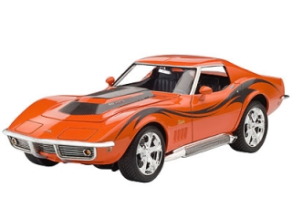 Revell Corvette Coupe 1969 1:25 07192