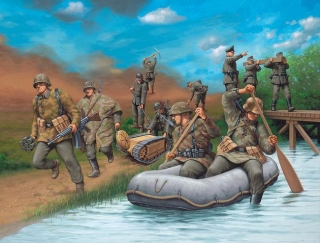 Revell figurky German Engineers WW II 1/72 02508